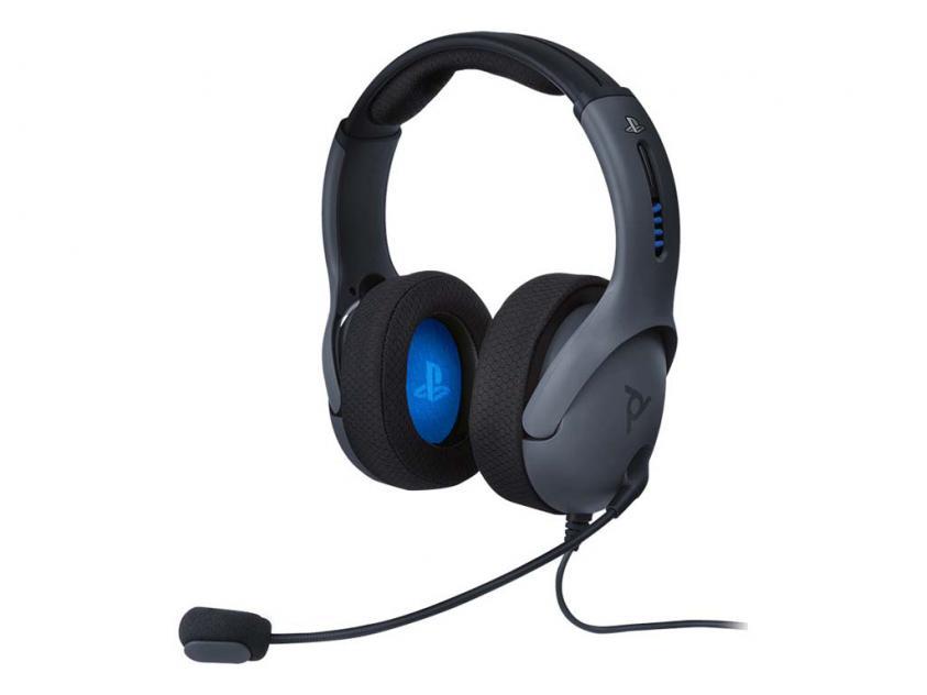 Gaming Ακουστικά PDP LVL50 Stereo Grey For PS4 (051-049-EU-BK)