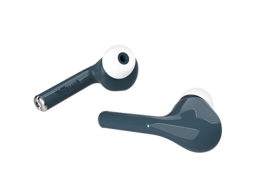 Ακουστικά Handsfree Trust Nika Touch Blue (23702)