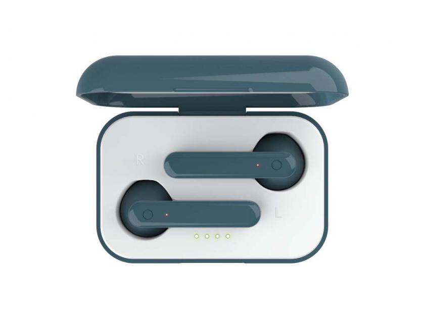 Ακουστικά Handsfree Trust Primo Touch Blue (23780)