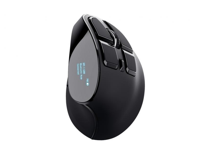 Ποντίκι Trust Wireless VOXX Ergonomic Black (23731)