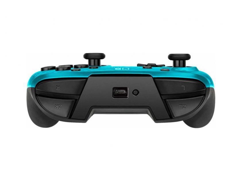 Controller PDP Faceoff Deluxe Νintendo Switch Blue Camo (500-202-EU-CMLB)