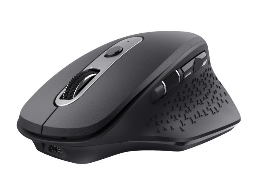 Ποντίκι Trust OZAA Black Wireless (23812)