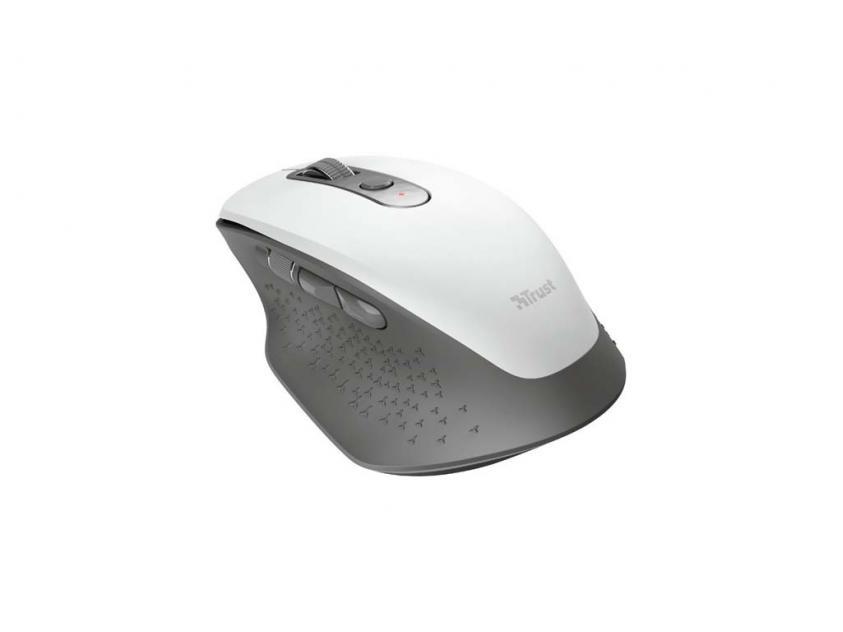 Ποντίκι Trust OZAA White Wireless (24035)