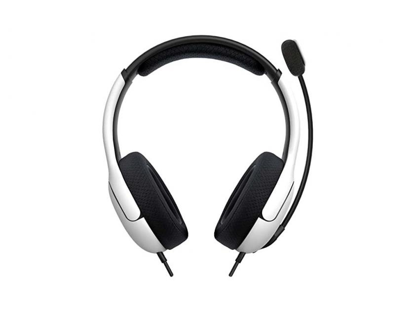Gaming Ακουστικά PDP LVL40 Stereo White (049-015-EU-WH)