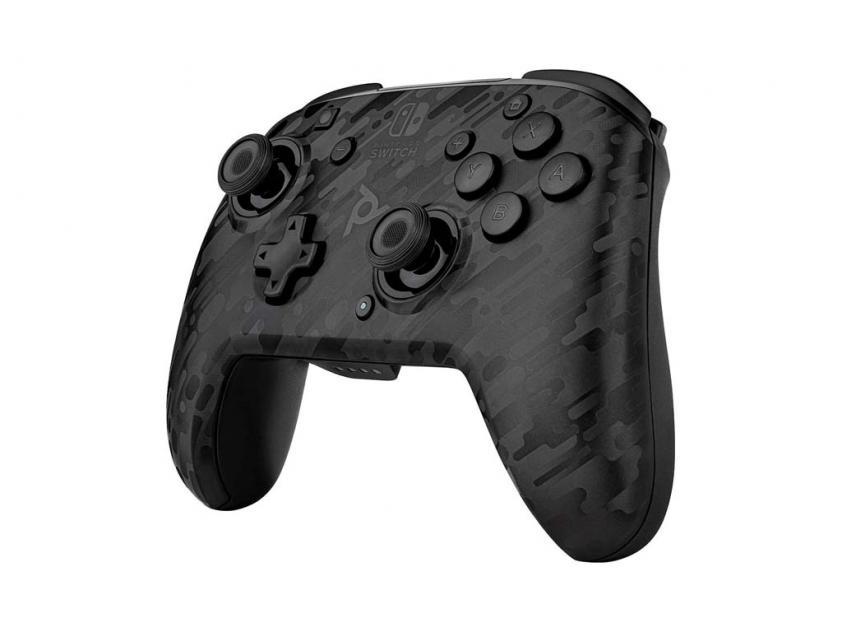Controller PDP Faceoff Deluxe Νintendo Switch Black Camo (500-202-EU-CMBK)