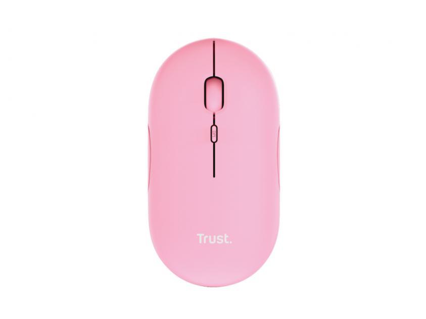 Ποντίκι Trust Puck Pink (24125)