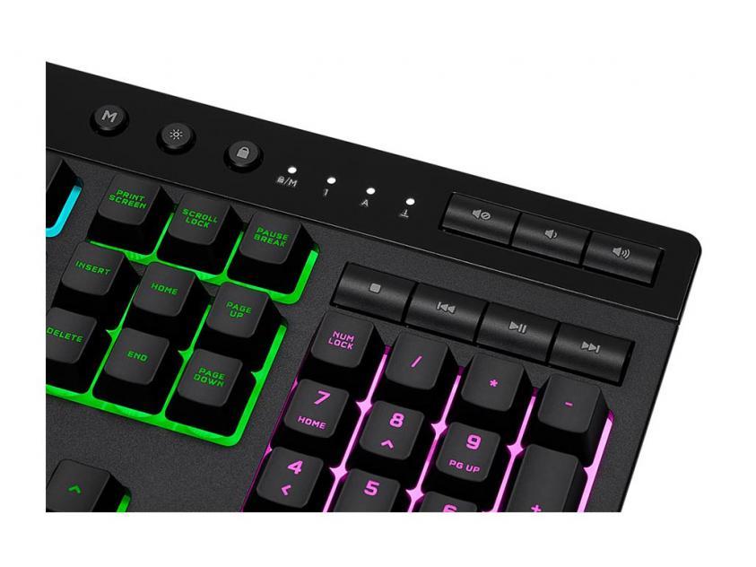 Gaming Πληκτρολόγιο Corsair K55 PRO RGB (GR/US) (CH-9226765-GR2)
