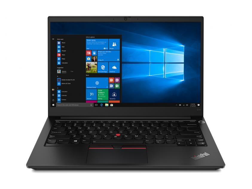 Laptop Lenovo ThinkPad E14 Gen2 14-inch R7 4700U/16GB/512GB/W10P/2Y/Black (20T6000MGM)