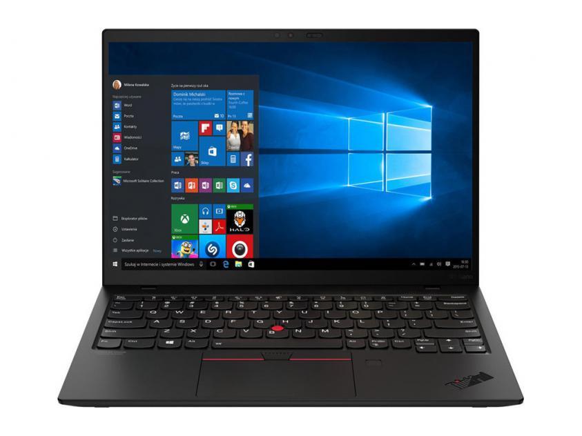 Laptop Lenovo ThinkPad X1 Nano Gen1 13-inch i7-1160G7/16GB/512GB/W10P/3Y/Black (20UN002RGM)