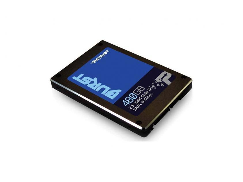 Εσωτερικός Σκληρός Δίσκος SSD Patriot Burst 480GB 2.5-inch (PBU480GS25SSDR)