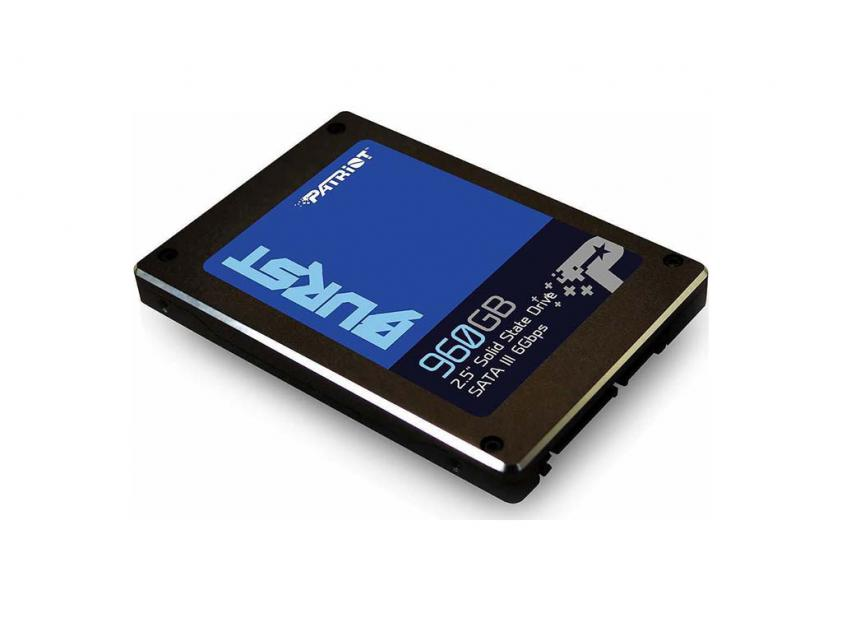 Εσωτερικός Σκληρός Δίσκος SSD Patriot Burst 960GB 2.5-inch (PBU960GS25SSDR)