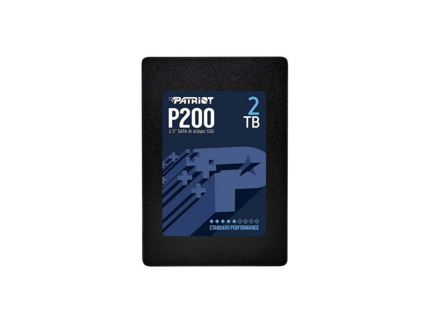 Εσωτερικός Σκληρός Δίσκος SSD Patriot P200 2TB 2.5-inch (P200S2TB25)