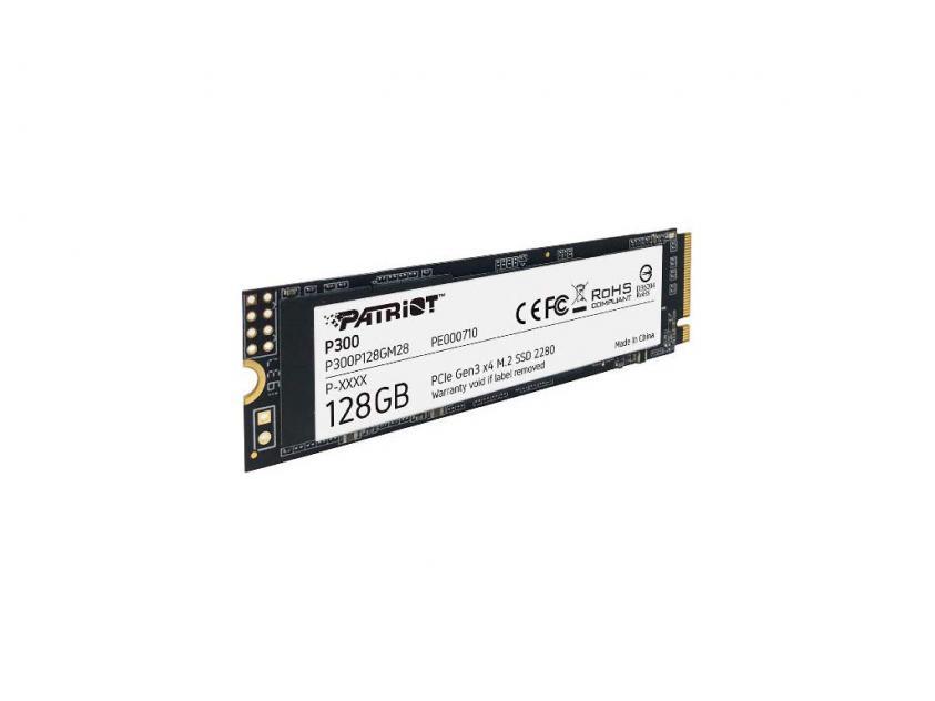 Εσωτερικός Σκληρός Δίσκος SSD Patriot P300 128GB M.2 (P300P128GM28)