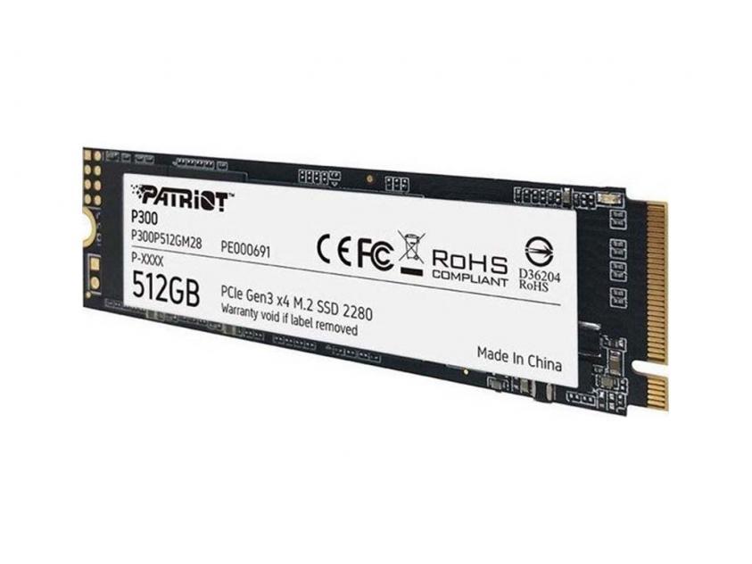 Εσωτερικός Σκληρός Δίσκος SSD Patriot P300 256GB M.2 (P300P256GM28)