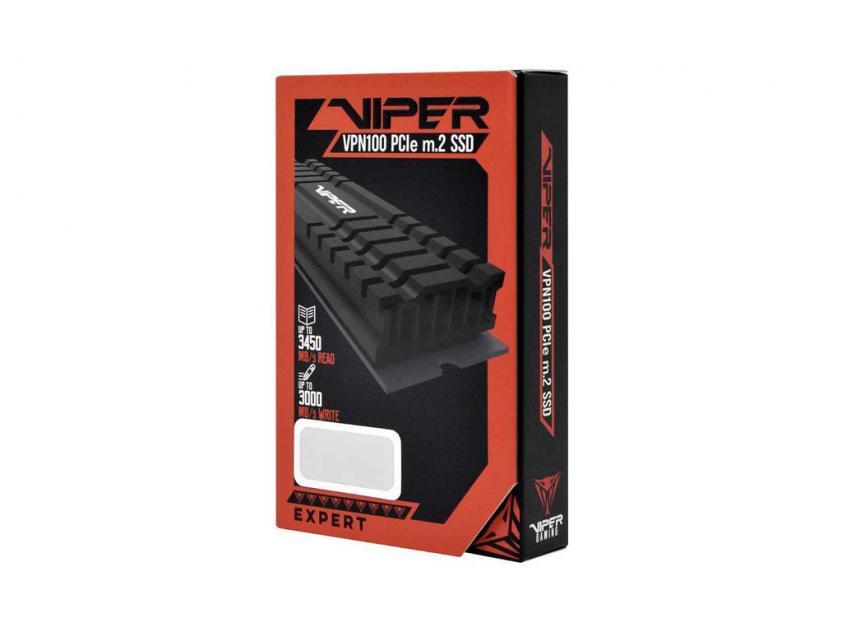 Εσωτερικός Σκληρός Δίσκος SSD Patriot Viper VPN100 512GB M.2 (VPN100-512GM28H)