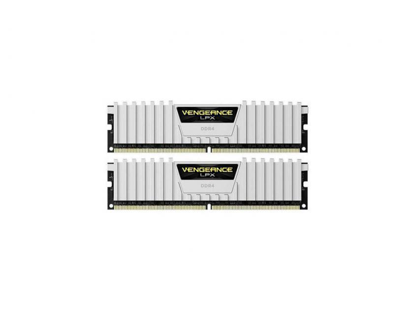 Μνήμη RAM Vengeance White LPX 16GB (2X8GB) DDR4 3200MHz (CMK16GX4M2B3200C16W)
