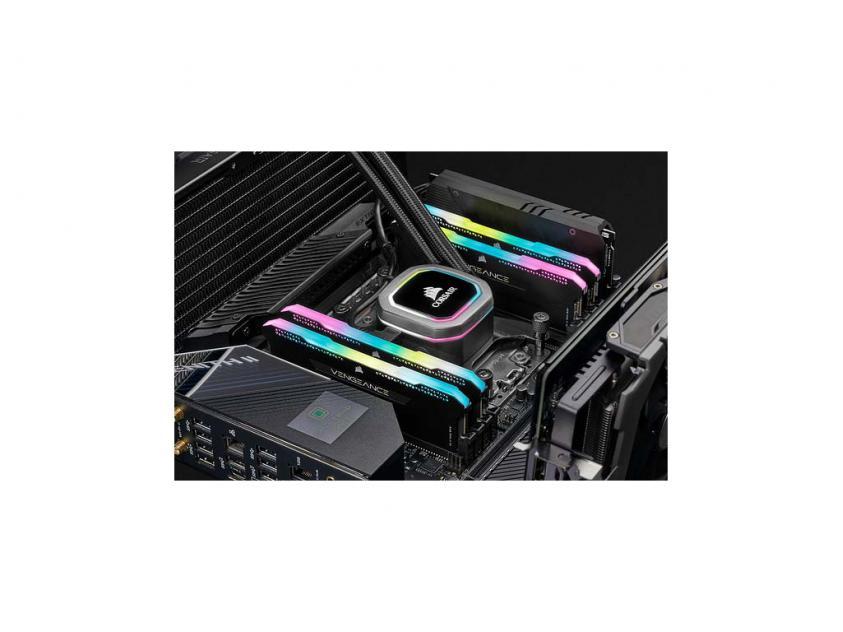 Μνήμη RAM Vengeance Black RGB PRO SL 16GB (2X8GB) DDR4 3600MHz CL18 (CMH16GX4M2D3600C18)