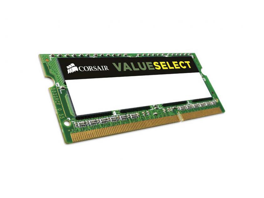 Μνήμη RAM Value Select 8GB DDR3 1333MHz CL9 (CMSO8GX3M1C1333C9)
