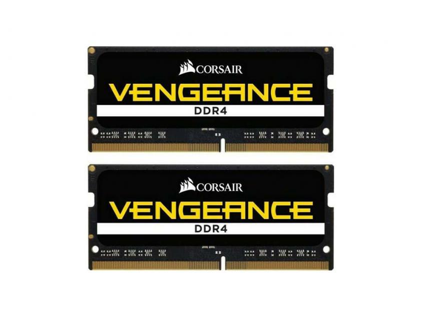 Μνήμη RAM Vengeance 32GB (2X16GB) DDR4 2666MHz CL18 SODIMM (CMSX32GX4M2A2666C18)