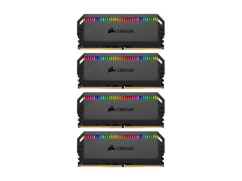 Μνήμη RAM Dominator Platinum RGB 32GB (4X8GB) DDR4 3200MHz C16 (CMT32GX4M4Z3200C16)