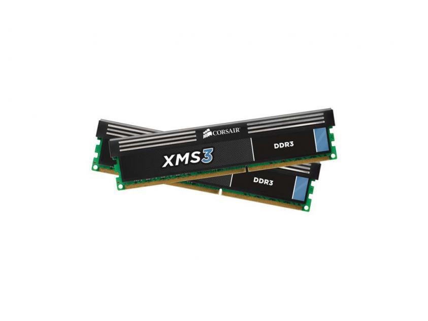 Μνήμη RAM XMS3 16GB (2X8GB) DDR3 1600MHz C11 (CMX16GX3M2A1600C11)