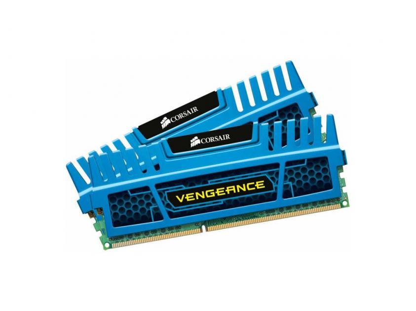 Μνήμη RAM Vengeance Blue 16GB (2X8GB) DDR3 1600MHz  (CMZ16GX3M2A1600C10B)