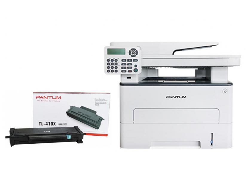 Πολυμηχάνημα  Pantum Laser M6800FDW Mono + TONER TL-410X Black 6000Pgs