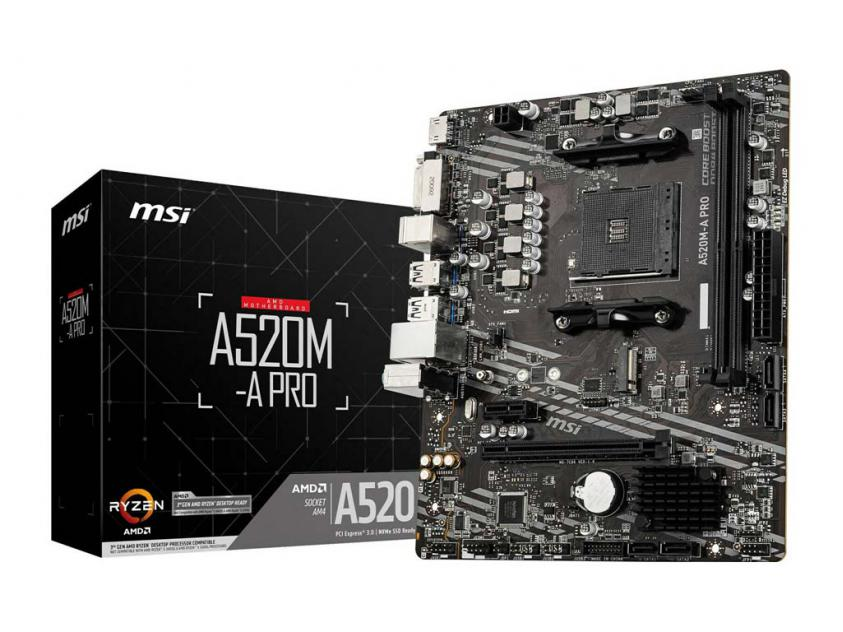 Μητρική MSI A520M-A Pro (7C96-001R)