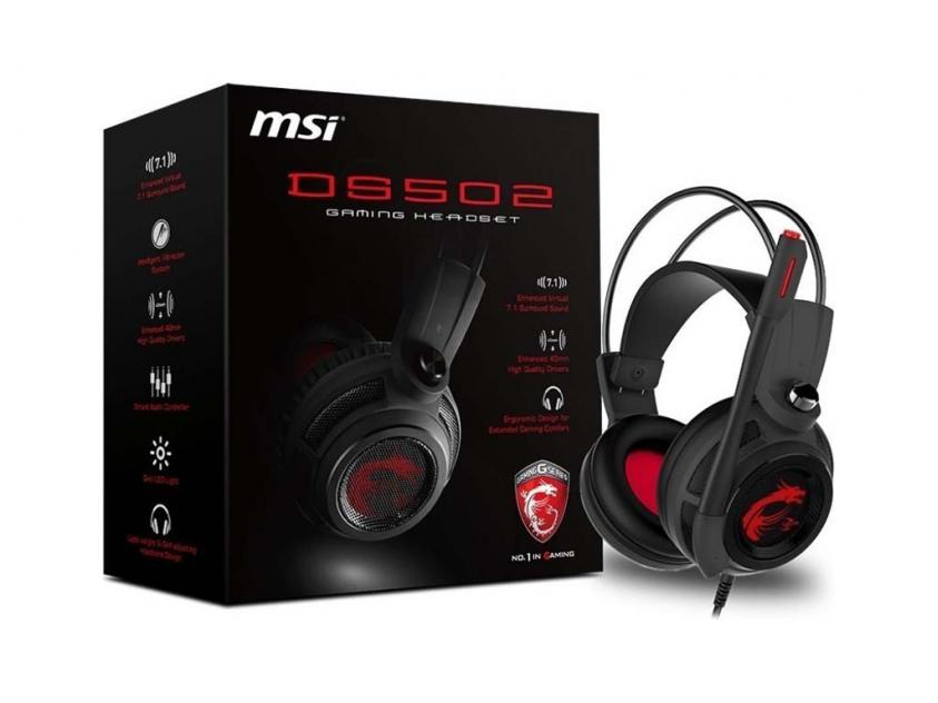 Gaming Headset MSI DS502 (S37-2100911-SV1)