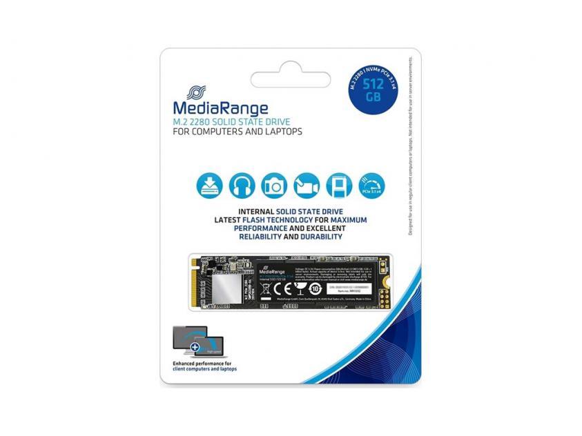 Εσωτερικός Σκληρός Δίσκος SSD MediaRange MR1032 512GB M.2 (MR1032)