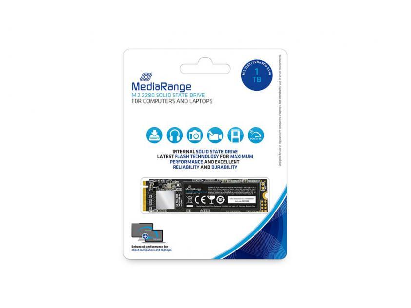 Εσωτερικός Σκληρός Δίσκος SSD MediaRange MR1033 1TB M.2 (MR1033)
