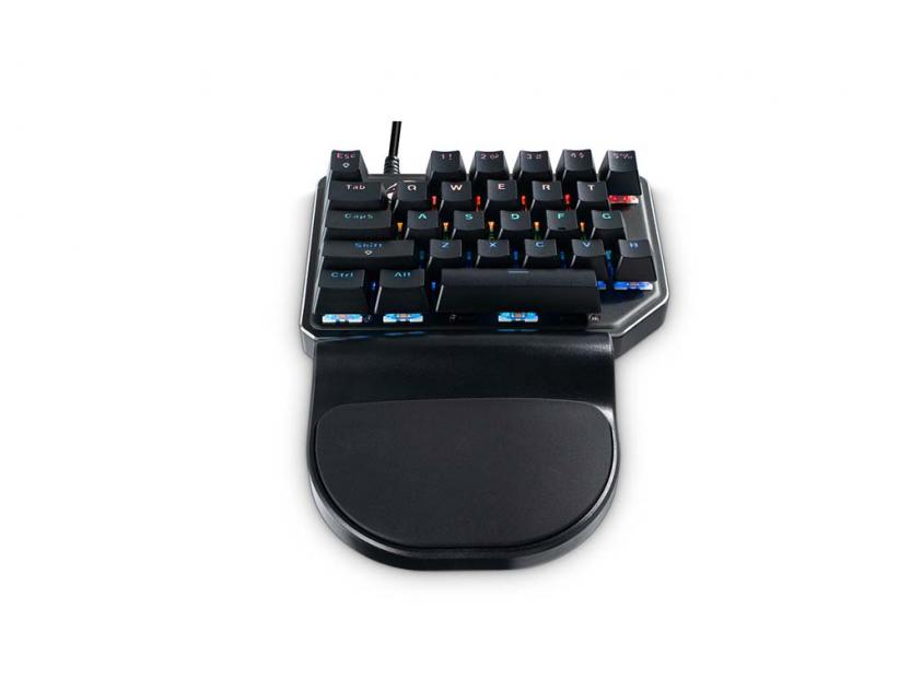 Gaming Mechanical Keypad MediaRange GS100 Wired RGB US Layout (MRGS100)