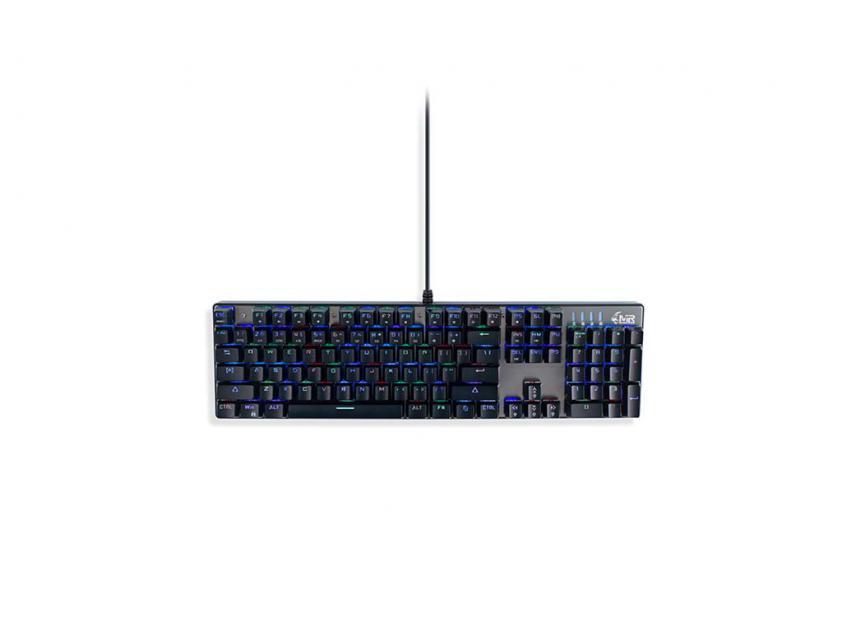 Gaming Mechanical Keyboard MediaRange GS101 Wired RGB UK Layout (MRGS101-UK-10)