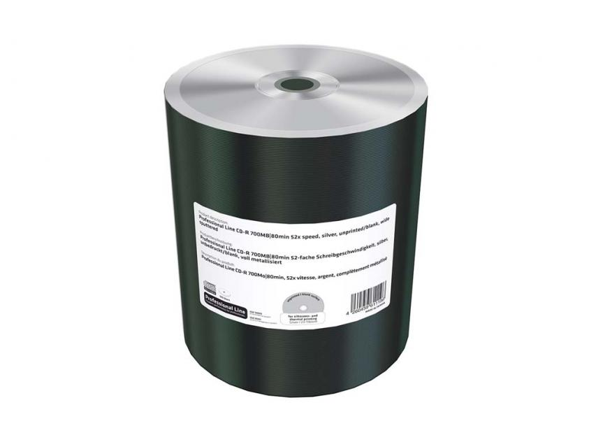 CD-R MediaRange Professional Line 700MB 52x Cake Box x100 (MRPL508-C)