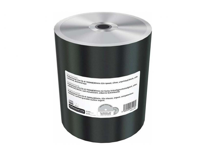 CD-R MediaRange Professional Line 700MB 52x Cake Box x100 (MRPL507-M)