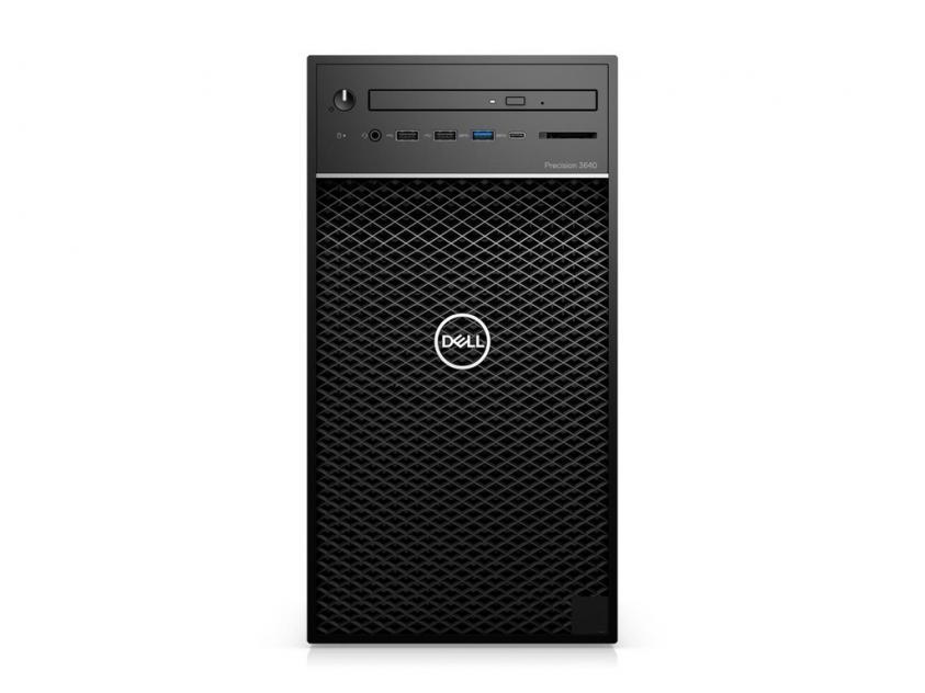 Workstation Desktop Dell Precision 3640 Tower i9-10900K/32GB/512GBSSD/1TBHDD/GeForce RTX 4000/W10P/5Y (PRT3640I910900K400)