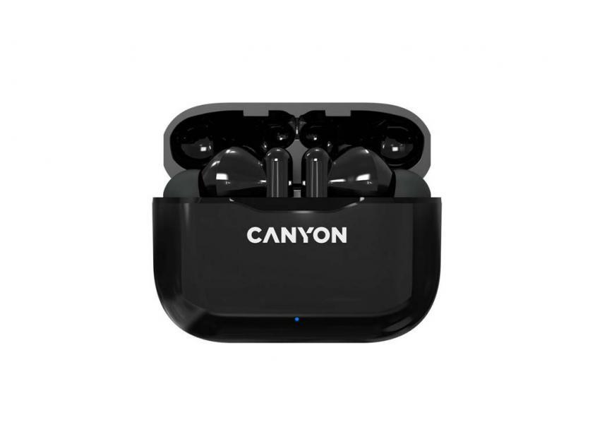 Ακουστικά Handsfree Canyon TWS 3 Black (CNE-CBTHS3B)