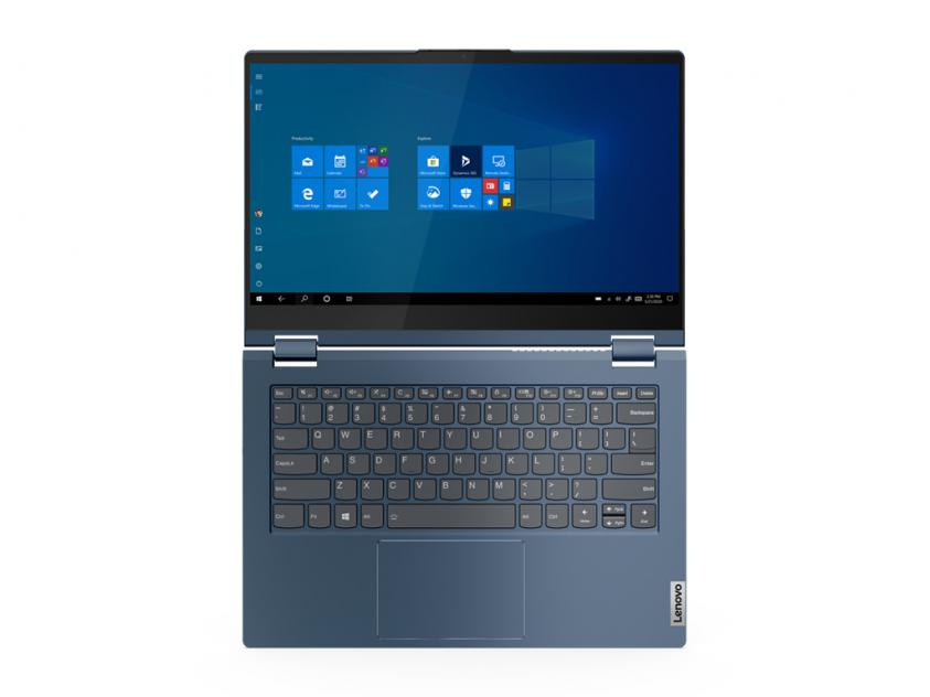 Laptop Lenovo ThinkBook Yoga 14s Convertible 14-inch Touch i5-1135G7/16GB/512GB/W10P/3Y/Abyss Blue (20WE0021GM)