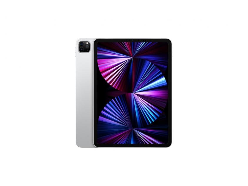 Apple iPad Pro 2021 Wi‑Fi + Cellular 11-inch 128GB - Silver (MHW63RK/A)