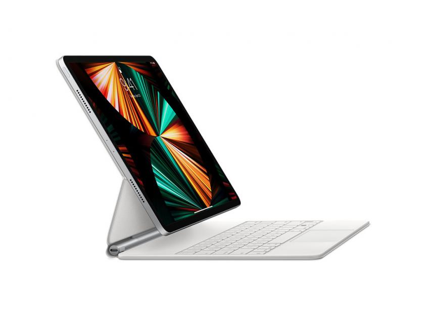 Apple Magic Keyboard for 12.9-inch iPad Pro (5th generation) - White (MJQL3GR/A)