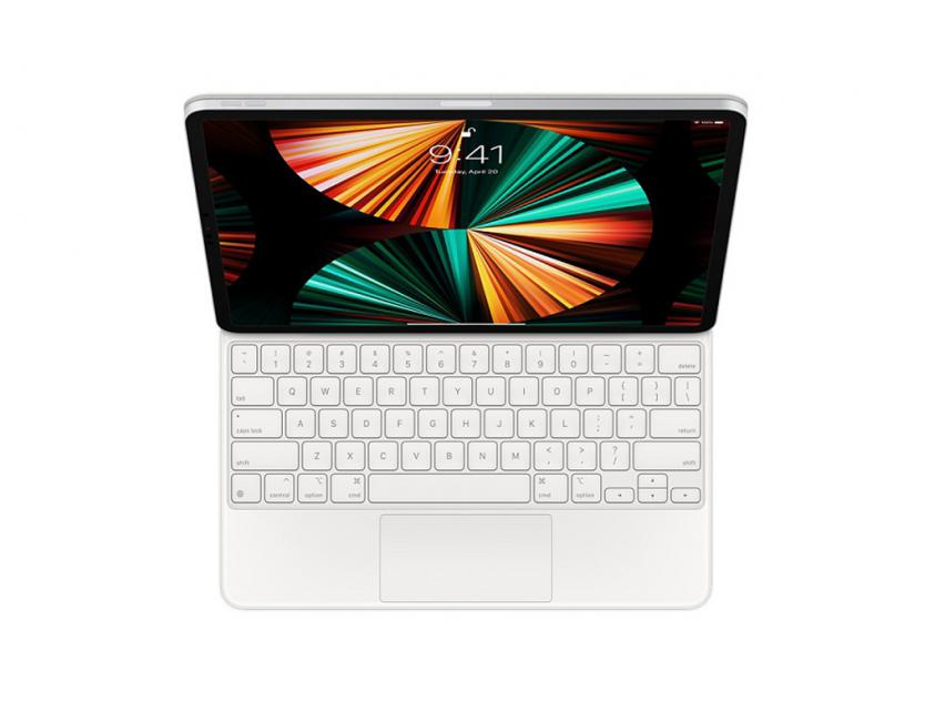 Apple Magic Keyboard for 12.9‑inch iPad Pro (5th generation) EN - White (MJQL3Z/A)