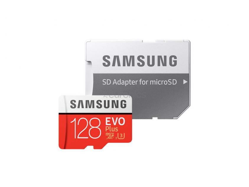 Κάρτα Μνήμης Samsung Evo Plus microSDXC 128GB (MB-MC128HA/EU)