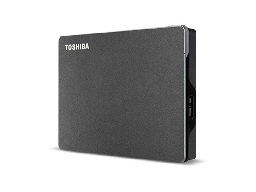 Εξωτερικός Σκληρός Δίσκος HDD Toshiba Canvio Gaming 2TB USB 3.2 (HDTX120EK3AA)