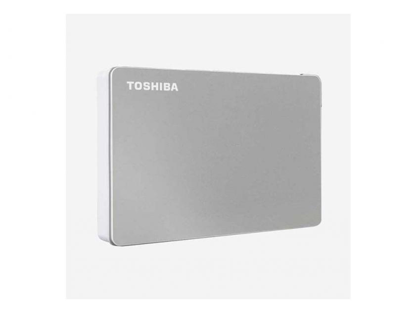 Εξωτερικός Σκληρός Δίσκος HDD Toshiba Canvio Flex 2TB USB 3.2 (HDTX120ESCAA)