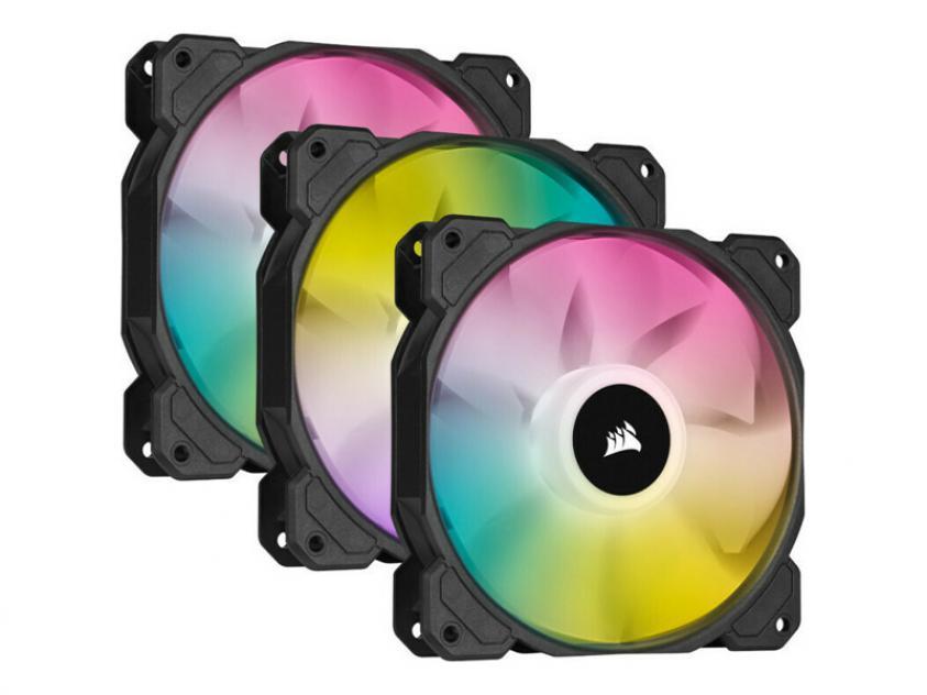 Ανεμιστήρας Corsair iCUE SP120 120mm RGB 3-Pack (CO-9050109-WW)