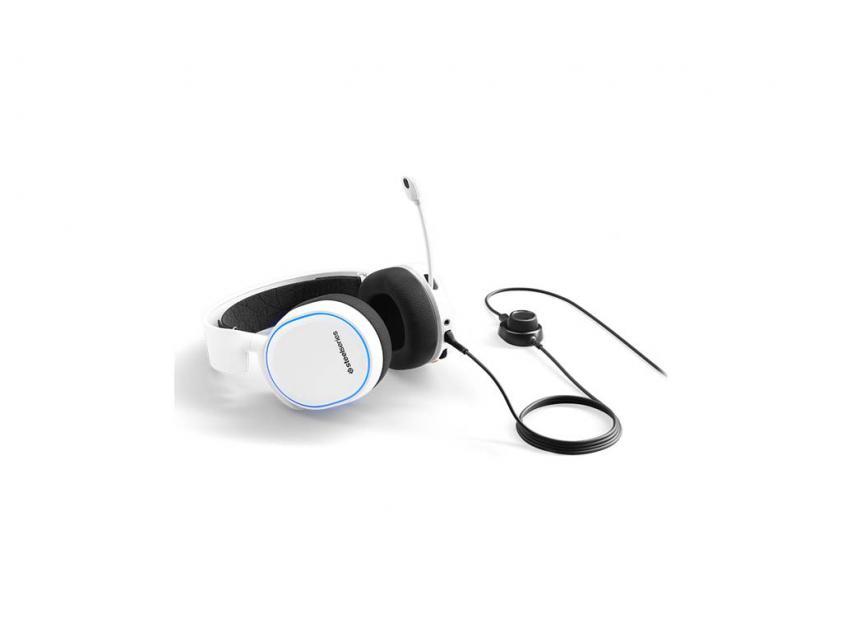 Gaming Ακουστικά SteelSeries Artics 5 2019 Edition White (61507)