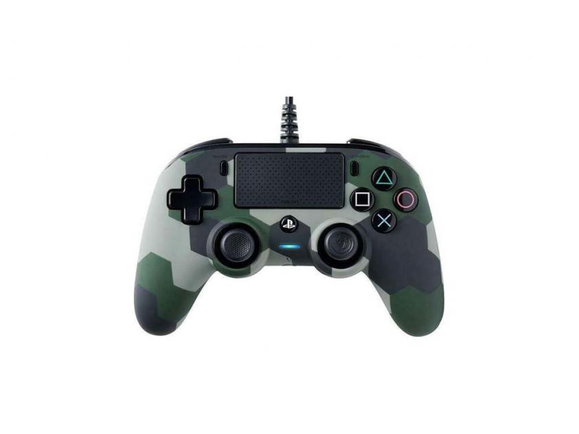 Controller Nacon Compact Camo Green Wired For PS4 (PS4OFCPADCAMOGREEN)