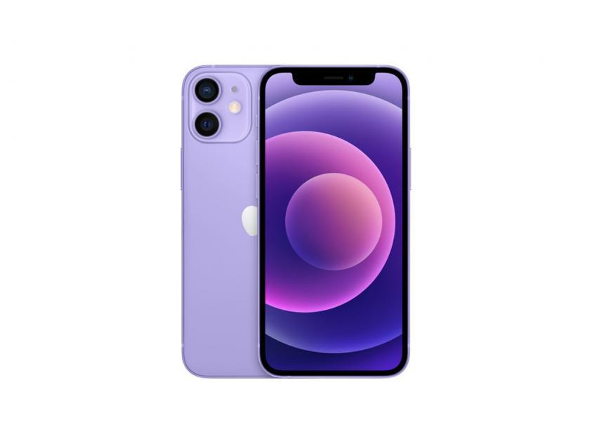 Apple iPhone 12 mini 64GB Purple (MJQF3GH/A) *δεν συμπεριλαμβάνεται power adapter & Earpods*