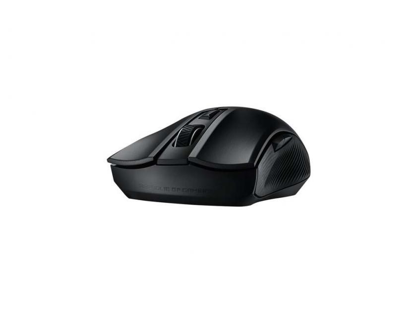 Gaming Ποντίκι Asus Rog Strix Carry Gun-Metal Grey Wireless (90MP01B0-B0UA00)