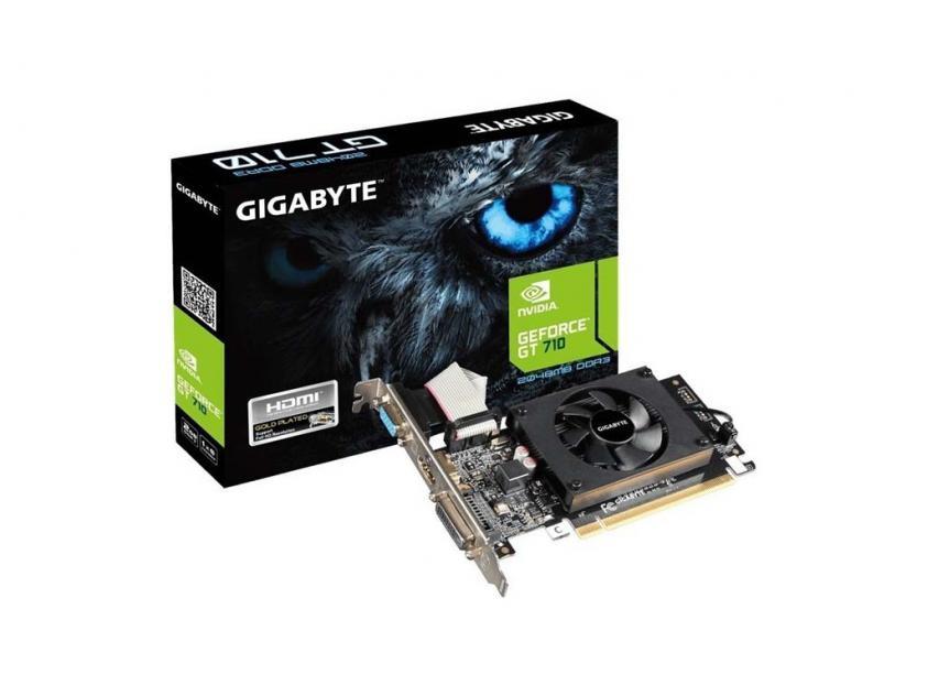 Κάρτα Γραφικών Gigabyte GeForce GT710 2GB (GVN710D32L-00-G2)